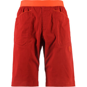 La Sportiva Flatanger Shorts Men chili/pumpkin